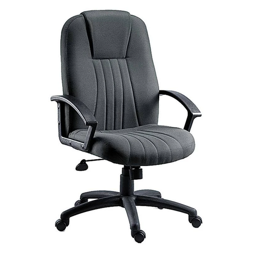 Teknik City Charcoal Fabric Executive Chair (8099CH) - Insta Living