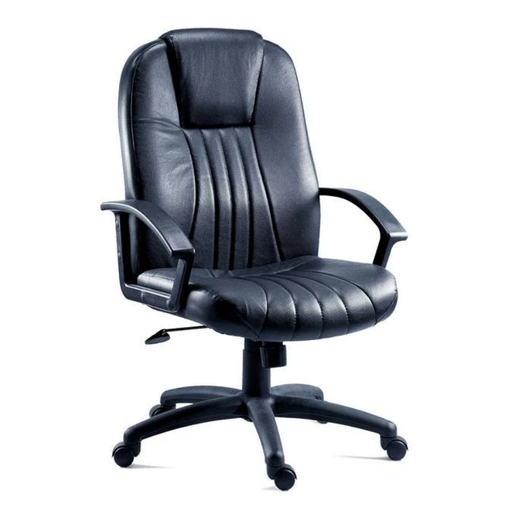 Teknik City Leather Faced Executive Chair (8099L) - Insta Living