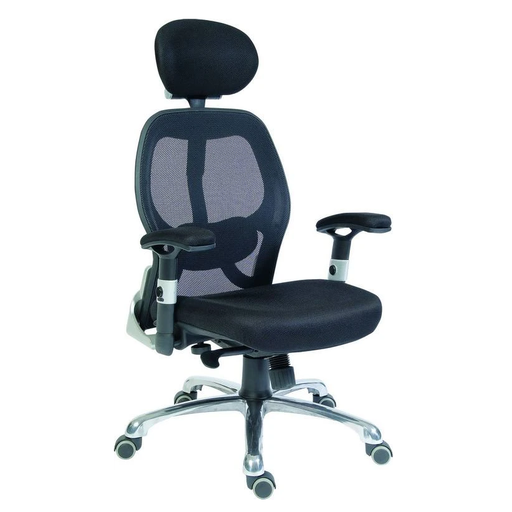 Teknik Cobham Black Mesh Office Chair (OA1013BLK) - Insta Living