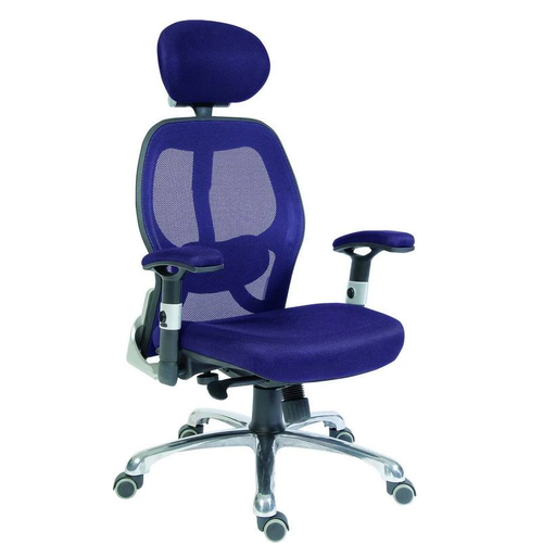Teknik Cobham Blue Mesh Office Chair (OA1013BLU) - Insta Living