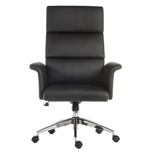 Teknik Elegance High Executive Chair in Black (6950BLK) - Insta Living