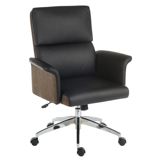 Teknik Elegance Medium Executive Chair in Black (6951BLK) - Insta Living