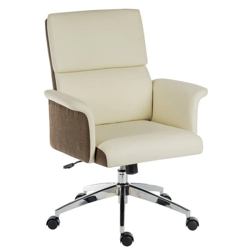 Teknik Elegance Medium Executive Chair in Cream (6951CRE) - Insta Living