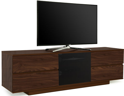 "MDA Designs Avitus Ultra Walnut TV Cabinet for up to 65"" Screens - Insta Living"