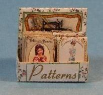 1:12 Dollhouse Miniature Pattern Box Kit DIY Miniature DI FS505