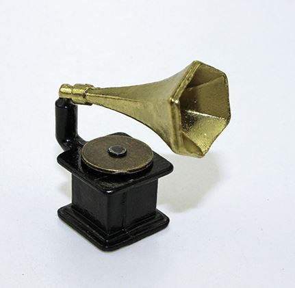 1: 12 Dollhouse Miniature Gramophone A81