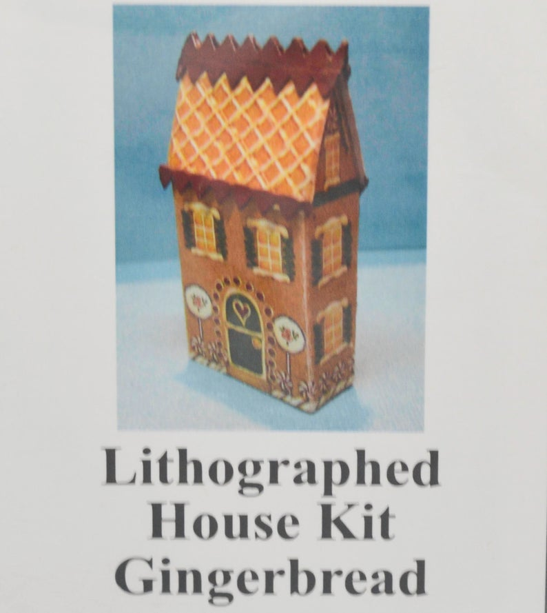 1:144 Gingerbread Lithographed House Kit DI TY403