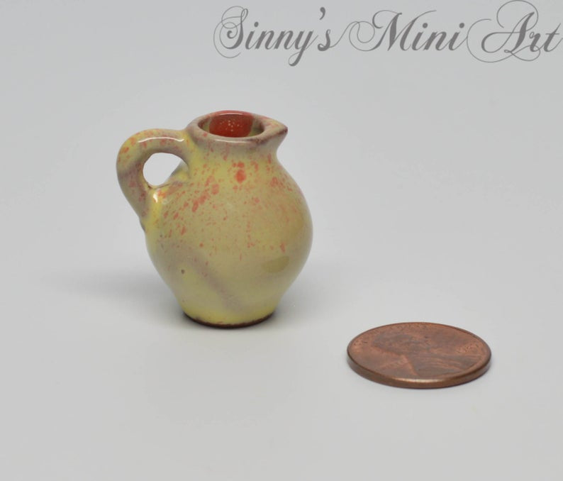 1:12 Dollhouse Miniature Ceramic Vase C41