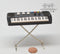 1:12 Dollhouse Miniature Key Board/Miniature Instrument E11