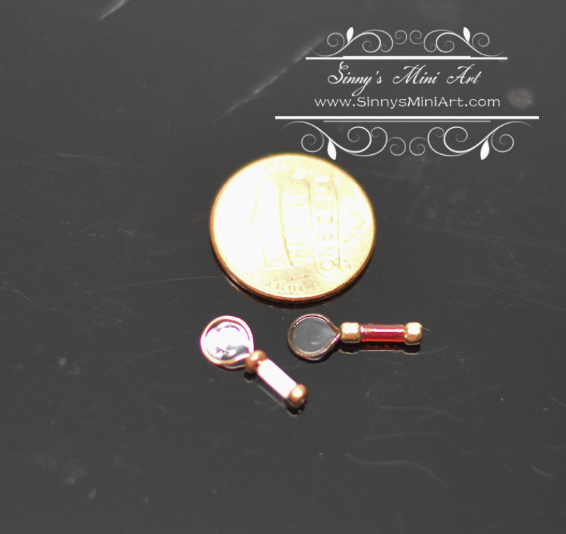 1:12 Dollhouse Miniature Magnifying Glass ATTH D-4