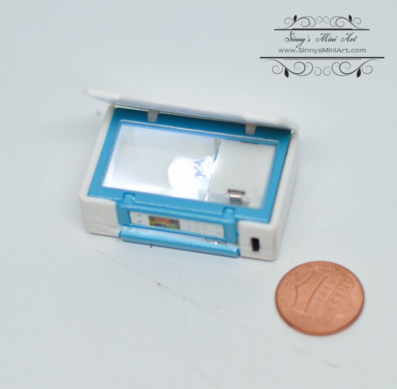 1:12 Dollhouse Miniature Lighting Printer/ Miniature Office AZ G7742