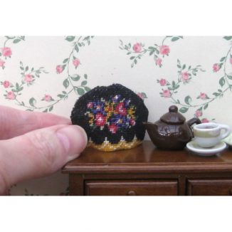 1:12 Dollhouse Needlepoint Teacosy Kit – Berlin Woolwork JGD 2217