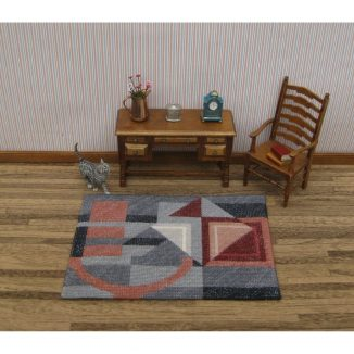 Alma (grey) Dollhouse Needlepoint Carpet Kit JGD 3247