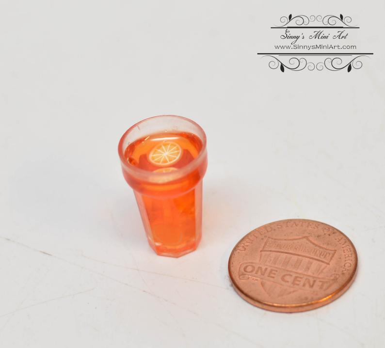 1:12 Dollhouse Miniature Ice Tea/ Doll Miniature Drink B127