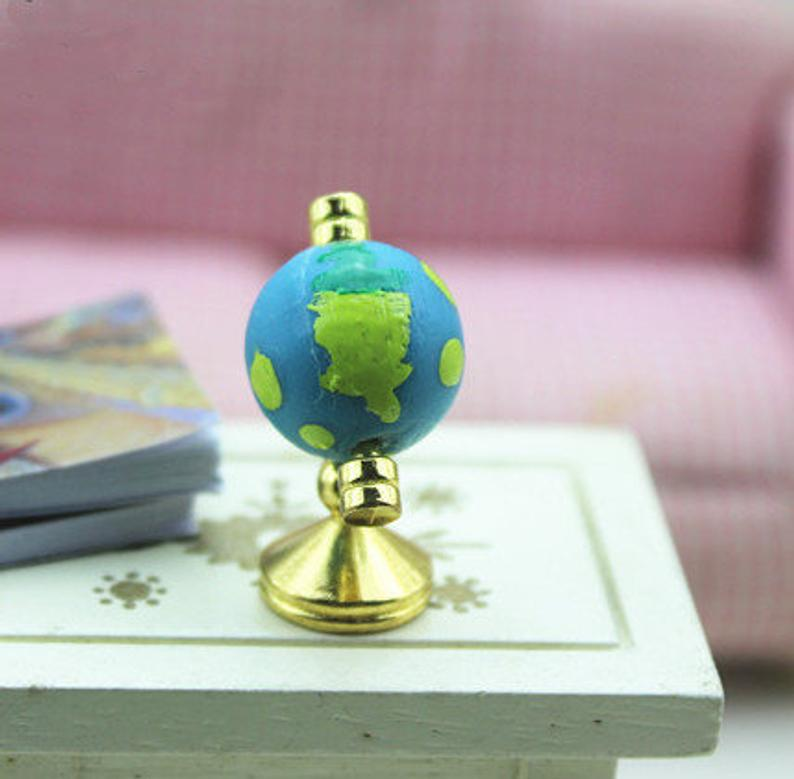 1:12 Dollhouse Miniature Globe/ Mini Globe/ Doll Office C63