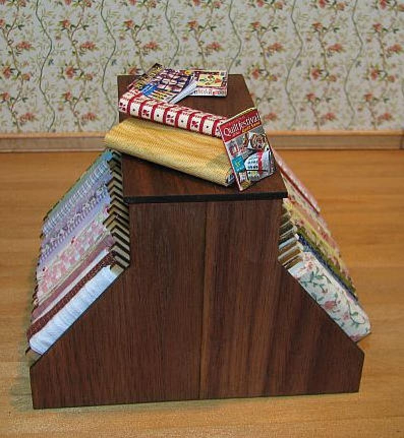 KIT 1:12 Dollhouse Miniature Quilt Shop Furniture kit DI FS203