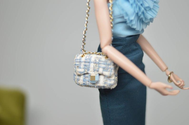 1:6 Miniature Doll Handbag/ Miniature luxury Bag MJ C57