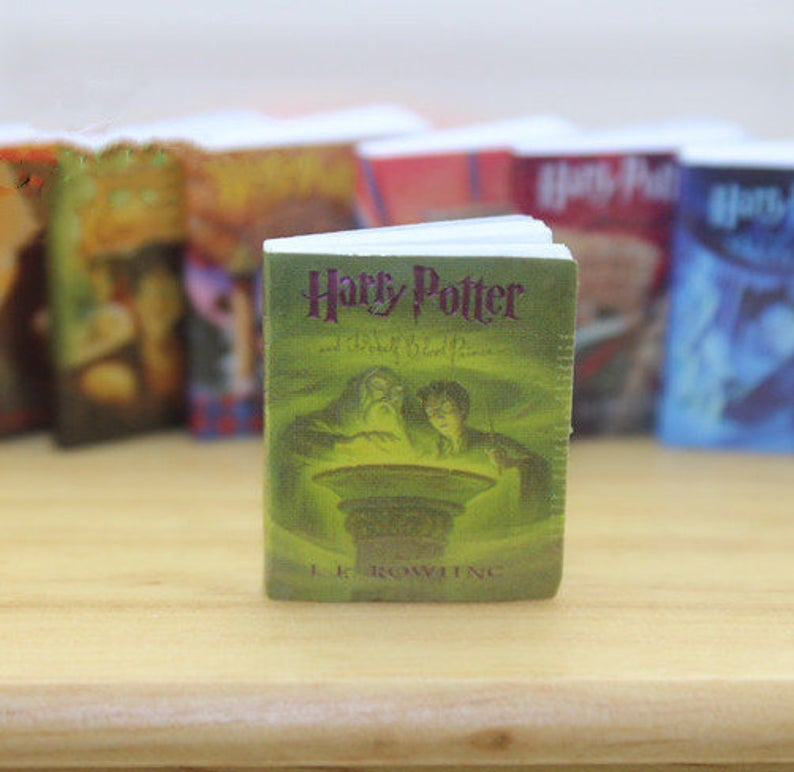 1:12 Dollhouse Miniature Harry Potter Book Set/ Miniature Books A58