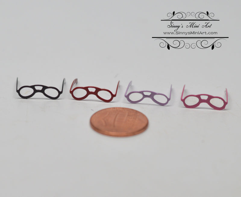 1:12 Dollhouse Miniature Glasses Office B139