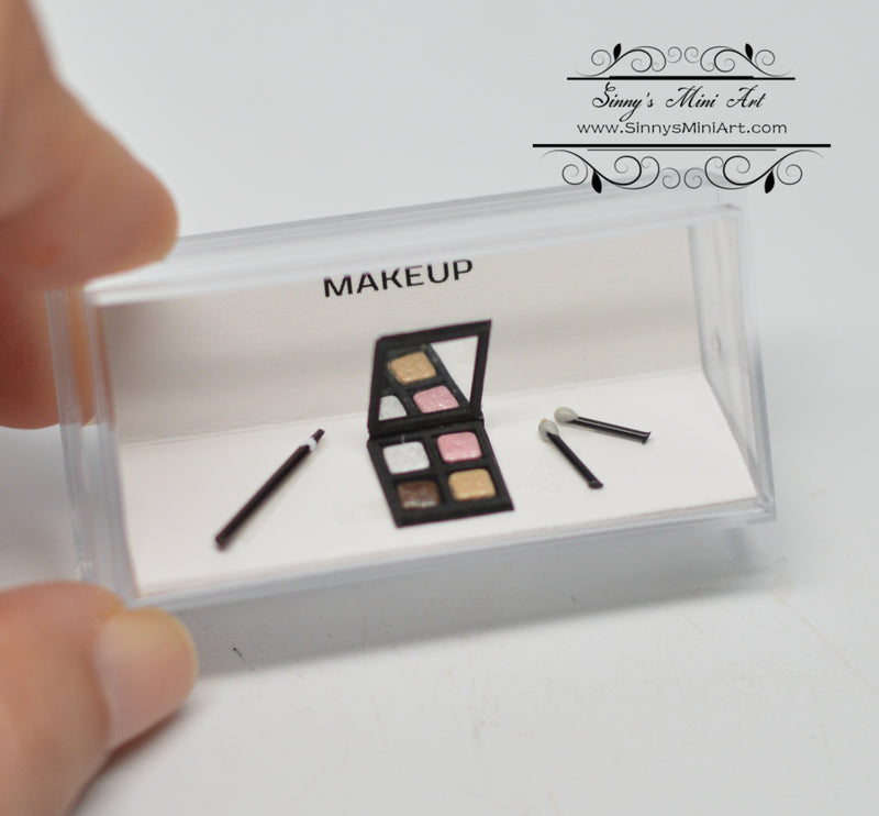 1:12 Dollhouse Miniature Makeup Cosmetic Eye Shadow Applicator liner IBM MIS0085