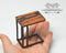 1:12 Dollhouse Miniature Laptop Stand/ Accent Table SMA FS008