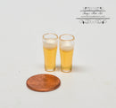 1:12 Dollhouse Miniature 2 PC Cup of Beer D194