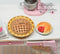 1:12 Dollhouse Miniature Cherry Pie in  Pie Plate BD K2651
