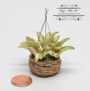 1:12 Dollhouse Miniature Hanging Houseplant BD A601
