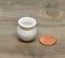 1:12 Dollhouse Miniature White Ceramic Planter Pot / Miniature Garden HMN 1428