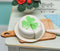 1:12 Dollhouse Miniature Shamrock Cake, Sliced BD K1405