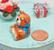 1:12 Dollhouse Miniature Happy Bear Porcelain Cookie Jar BD B402