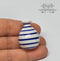1:12 Dollhouse Miniature Stripes Ceramic Vase Pot / Miniature Garden HMN 1038
