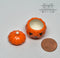 1:12 Dollhouse Miniature Pumpkin Ceramic Bowl with Lid / Miniature Holiday HMN 1404