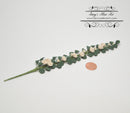 1:12 Dollhouse Miniature White Climbing Rose Vine BD T0048