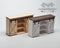 1:12 Dollhouse Miniature Farmhouse Cabinet Kit/ Miniature Furniture SMA F009