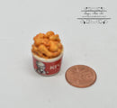 1:12 Dollhouse Miniature Fried Chicken in Box / Miniature Food HMN 1128