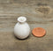 1:12 Dollhouse Miniature White Ceramic Vase/ Miniature Home HMN 1436