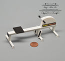 1:12 Dollhouse Miniature Magnetic Rowing Machine Gym DMUK M111