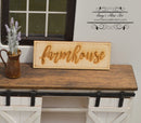1:12 Dollhouse Miniature Farmhouse Sign SMA Sign003