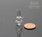 1:12 Dollhouse Miniature Glass Water Pipe Bong HMN HB420