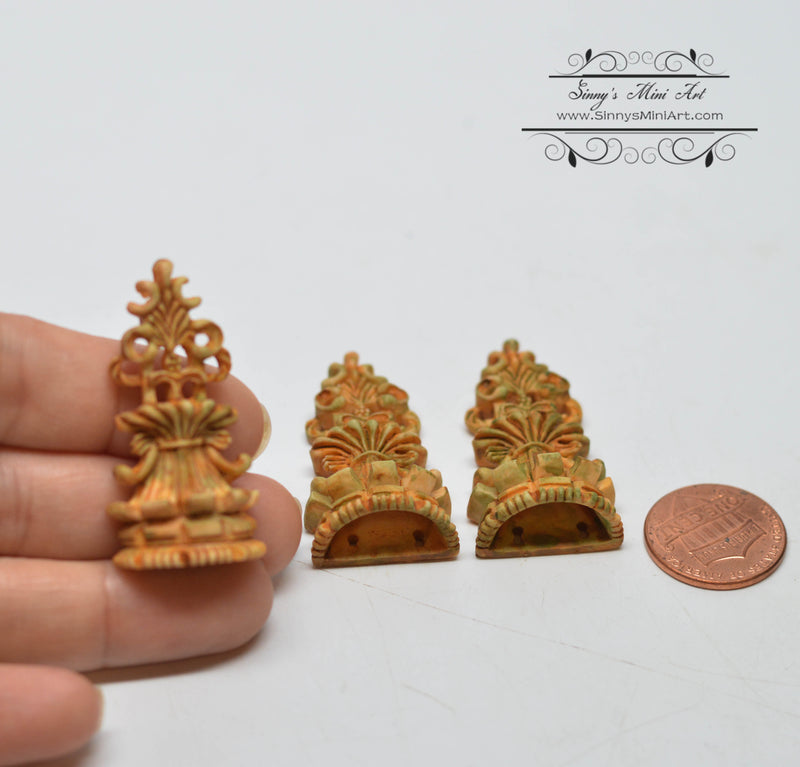 1:12 Dollhouse Miniature Wall Planters Set Miniature Garden AZ A4479AG