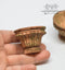 1:12 Dollhouse Miniature Large Round Planters Set Miniature Garden AZ A4050GA