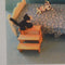 1:12 Dollhouse Miniature Bed Steps Kit DI PT255