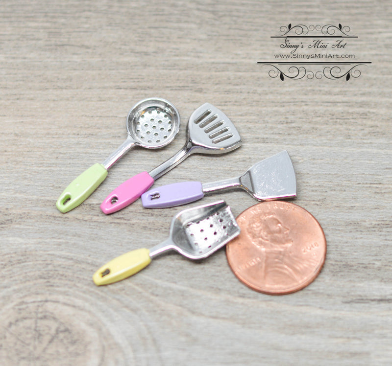 1:12 Dollhouse Cooking  Shovel Set / Miniature Kitchenware D166