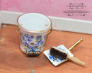 1:12 Dollhouse Miniature Blue Onion Cleaning Set RP 1.826/6