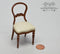 1:12 Dollhouse Miniature Balloon Back Chair Furniture AZ JJ05037WN