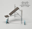 1:12 Dollhouse Miniature Weights Bench Gym DMUK M212
