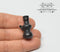 1:12 Miniature Black Glass Water Pipe / Bong BD HB620