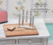 1:12 Dollhouse Miniature Knife Rack with 3 Knives Set DMUK H50