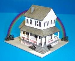 1:144 Dollhouse Miniature Auntie Em's Farmhouse Kit HH LT843